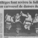 ''Les Sortilèges font revivre le folklore à travers un carrousel de danses de 12 pays''